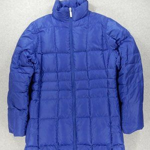 Lands End Down Reversible Long Coat (Womens Small)